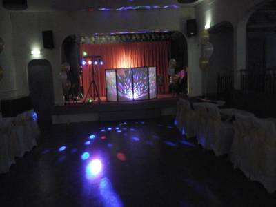 Disco equipment scene by Tiger Feet Entertainment of Southport