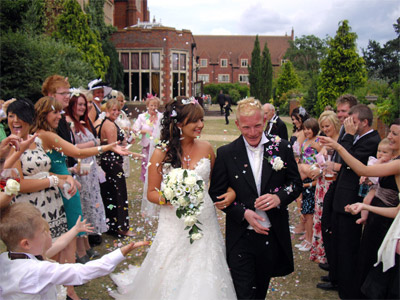 Image supplied by Essex Wedding DJs