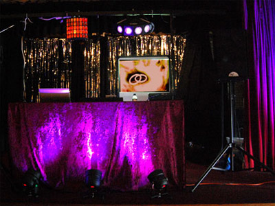 Disco equipment scene by Your Party Your Music of Great Yarmouth