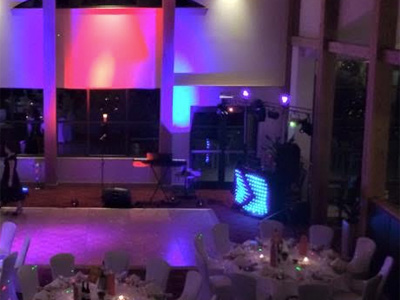 Disco equipment scene by Rockbox Roadshow of Caldicot