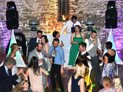 Euphorix Mobile Disco wedding DJ crowd scene