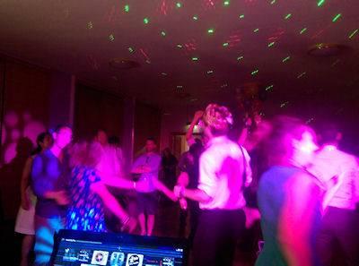 Solar Entertainments wedding DJ crowd scene
